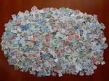 Насыпь марок на разные темы.Более 3000 шт.