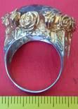 Перстень с натуральным раухтопазом., фото №4