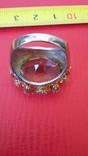Перстень с натуральным раухтопазом., фото №9