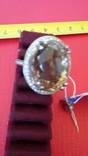 Кольцо с раухтопазом, фото №8