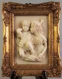 Рельеф картина рельефная картинка -дети- рама