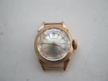 Золотые женские часы чайка на ходу без дефектов 583 проба