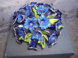 Букет цветов в корзине, фото №2