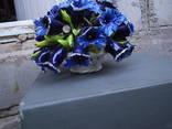Букет цветов в корзине, фото №4