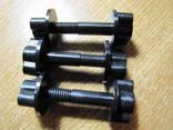Крепежный винт катушки к штанге 8 мм с гайкой 3 ШТ ( для аппаратов Garrett ACE и др.))
