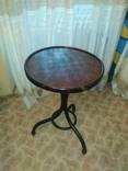 Старинный кофейный столик,с шахматной доской