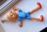 Кукла СССР:Буратино на резинках с клеймом
