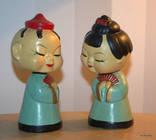 50-60 годы япония кукла папье - маше