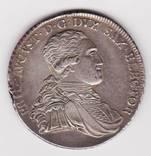 Саксония, талер. 1796г.