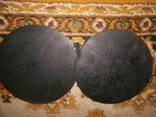 Круги резиновые толстые - диаметр 24 см толщина 8 мм