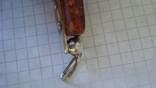 Кулон  серебро + янтарь, фото №11