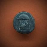 Денарий Октавиана - Храм Марса Мстителя