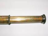 Подзорная труба Dollond London в кожаном футляре. Новая. Копия photo 4