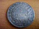 5 франков, 1812г. photo 1