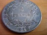 5 франков, 1812г. photo 3