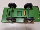 Железный большой автомобиль игрушка СССР, фото №2