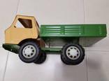 Железный большой автомобиль игрушка СССР, фото №13