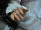 Кукла старая большая, фото №4