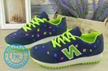 Яркие женские кроссовки размер 41 photo 2