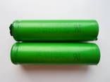 Литиевые АКБ 18650 для металлоискателя -2шт.