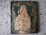 Икона Почаєвської Пресвятої Богородиці розмір 25,5х30см, фото №2