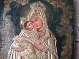Икона Почаєвської Пресвятої Богородиці розмір 25,5х30см, фото №4