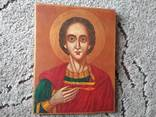 Икона Пантелеймон розмір 18х22,5см, фото №2
