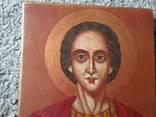 Икона Пантелеймон розмір 18х22,5см, фото №3