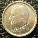1 франк Бельгія 1995 Belgie, фото №3
