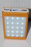 POWER BANK ELITE lux LED панель, фонарик ,солнечная батарея 30000 мАч( цвет чёрный) photo 2