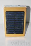 POWER BANK ELITE lux LED панель, фонарик ,солнечная батарея 30000 мАч( цвет чёрный) photo 5