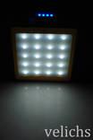 POWER BANK ELITE lux LED панель, фонарик ,солнечная батарея 30000 мАч( цвет чёрный) photo 8