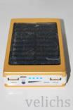 POWER BANK ELITE lux LED панель, фонарик ,солнечная батарея 30000 мАч( цвет чёрный) photo 9