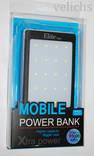 POWER BANK ELITE lux LED панель, фонарик ,солнечная батарея 30000 мАч( цвет чёрный) photo 11