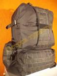 Рюкзак туристический тактический черный 40 литров