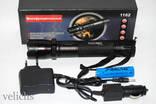 Фонарик аккумуляторный POLICE BL-1102 с электрошокером 99000 КV photo 5