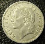 5 франків Франція 1947 (відкрита 9), фото №3