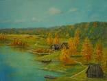 Холст,Масло. '' Осень. '' 30 * 40 см. photo 1