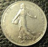 1 франк Франція 1976, фото №3