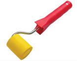 Валик прижимной резиновый 50 мм с ручкой, фото №2