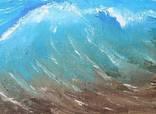 """Картина """"Море волнуется"""", холст, масло, 30*40. Ручная работа. photo 3"""