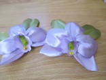 "Заколки ""орхидея""-2шт. photo 1"