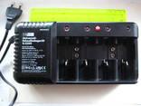 Универсальное зарядное устройство для разных типов батарей