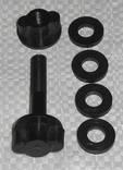 Болт для М.Д. 8мм. + 4 Уплотнительные резинки