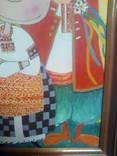 Копия картины  Виктории Процив Остап и Одарка 20*30 см холст масло +рама photo 4