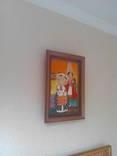 Копия картины  Виктории Процив Остап и Одарка 20*30 см холст масло +рама photo 7