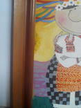 Копия картины  Виктории Процив Остап и Одарка 20*30 см холст масло +рама photo 8