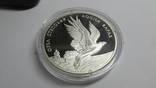Монета Орел степовий 10 грн. Ag