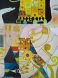 "Копия картины Густава Климта"" Ожидание"" 60*80см двп холст масло photo 3"