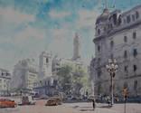 "Картина ""Буэнос-Айрес "". Микитенко Виктор"